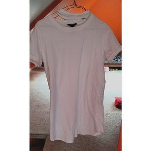 Forever 21 White T-Shirt Dress